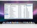Finder di Mac OS X con dettagli file
