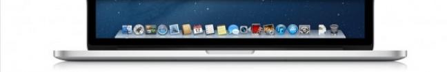 Le icone di OS X Mountain Lion su MacBook Pro 13 pollici Retina display