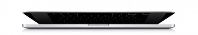 Profilo del MacBook Pro 13 pollici Retina display
