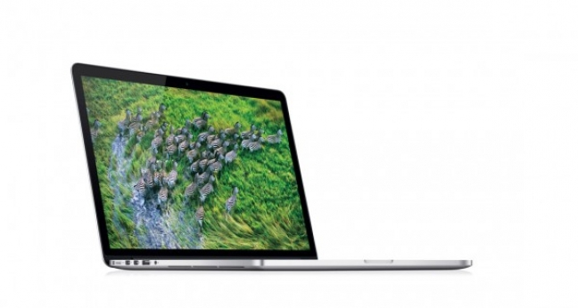 Display Retina brillante del nuovo MacBook Pro 13 pollici