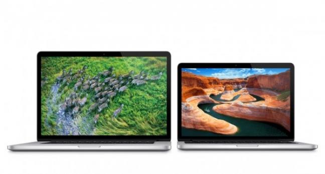 I modelli di MacBook Pro Retina display