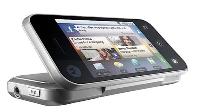 Motorola Backflip - aperto