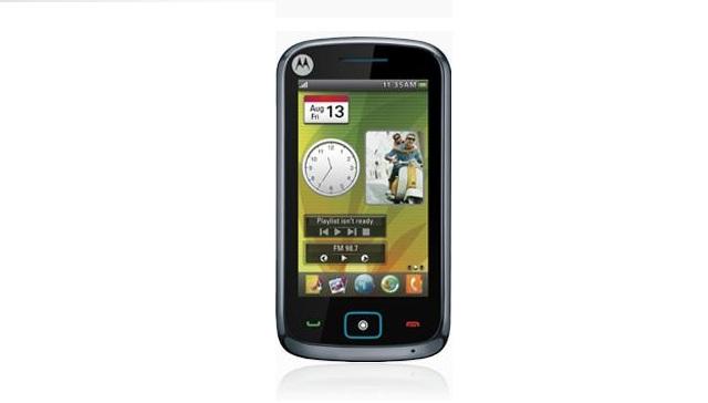Motorola EX122, fronte