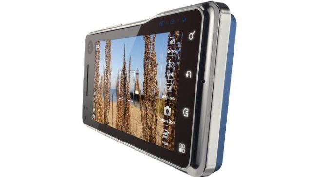 Motorola MileStone XT720 front