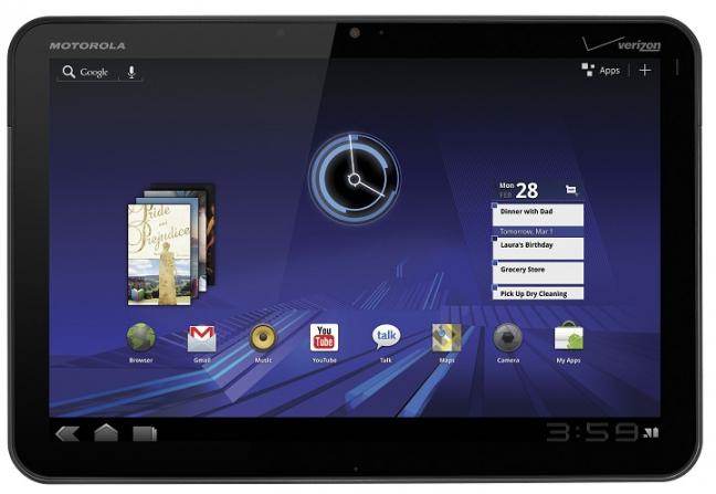 Motorola Xoom: Foto 11