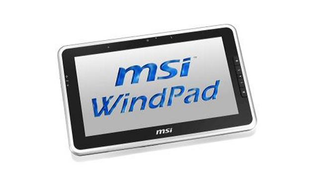 MSI WindPad 100W frontale