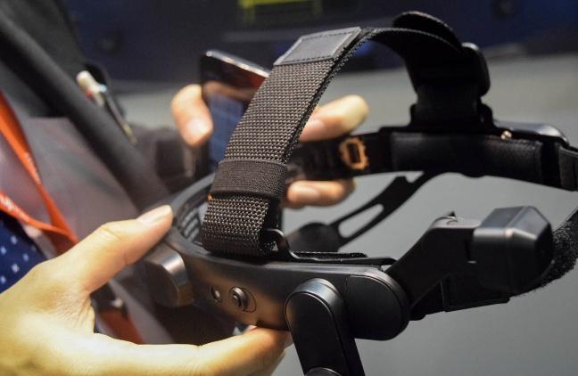 Il dispositivo per la realtà aumentata presentato da Fujitsu al MWC 2015