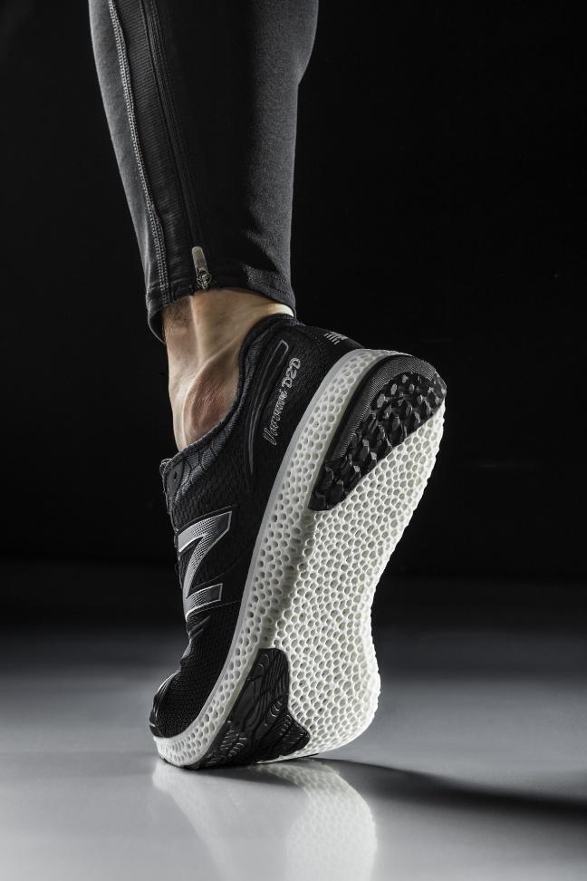 Le scarpe sportive di New Balance realizzate con stampanti 3D