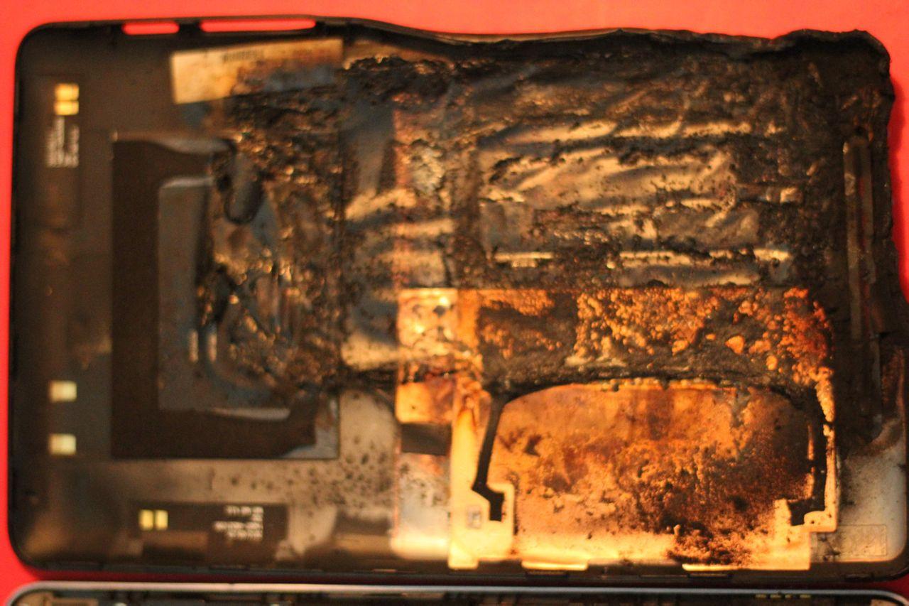 Nexus 7 prende fuoco