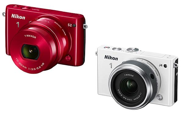 Nikon 1 S2 e J4