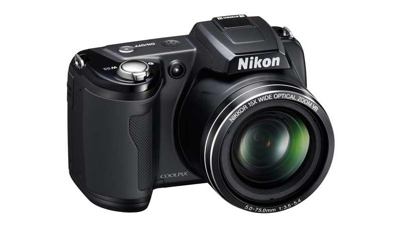 Nikon Coolpix L110 vista anteriore