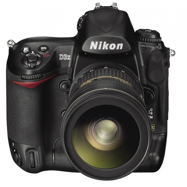 Nikon 3dx, frontale