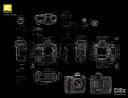 Nikon 3dx, wallpaper stilizzato