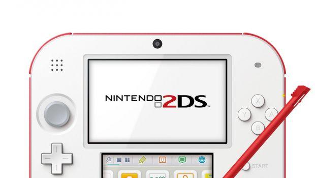 Nintendo 2DS rosso