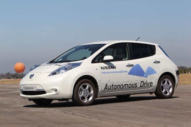 Nissan, prototipi Driverless Car