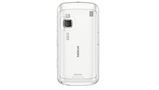 Nokia C6 rear
