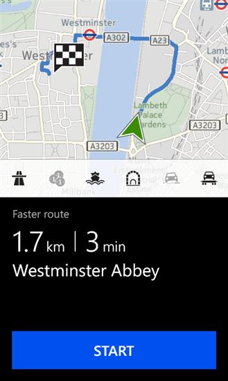 Nokia Drive+ per Windows Phone 8