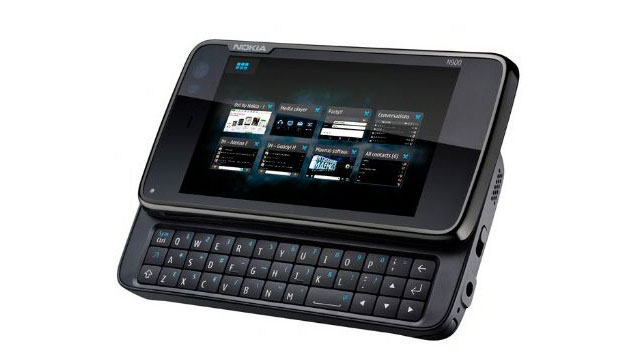 Nokia N900 - Tastiera
