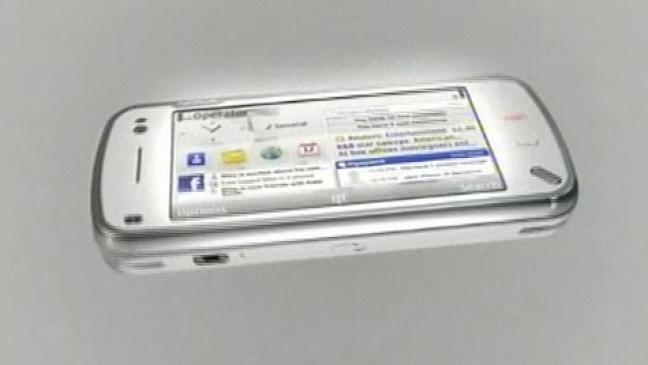 Nokia N97 con Facebook