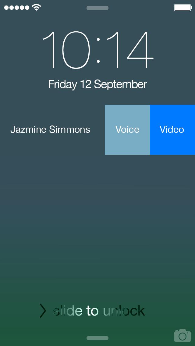 Notifiche Skype 5.5 su iOS 8