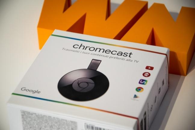 Le nostre immagini del nuovo Chromecast di Google