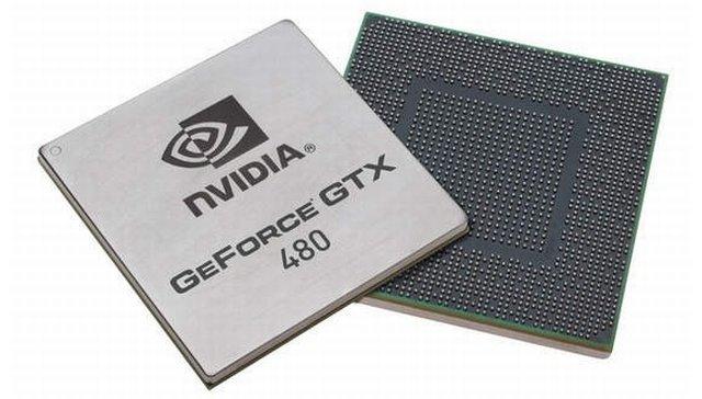 GeForce GTX 480 chip