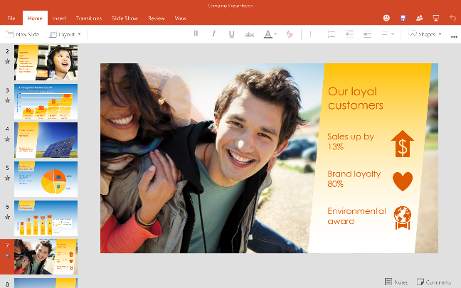 Office Preview per tablet Android