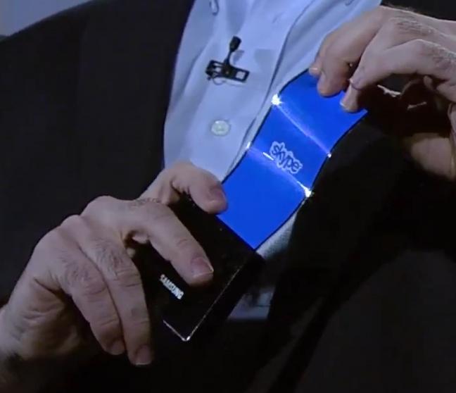 Oled flessibili Samsung