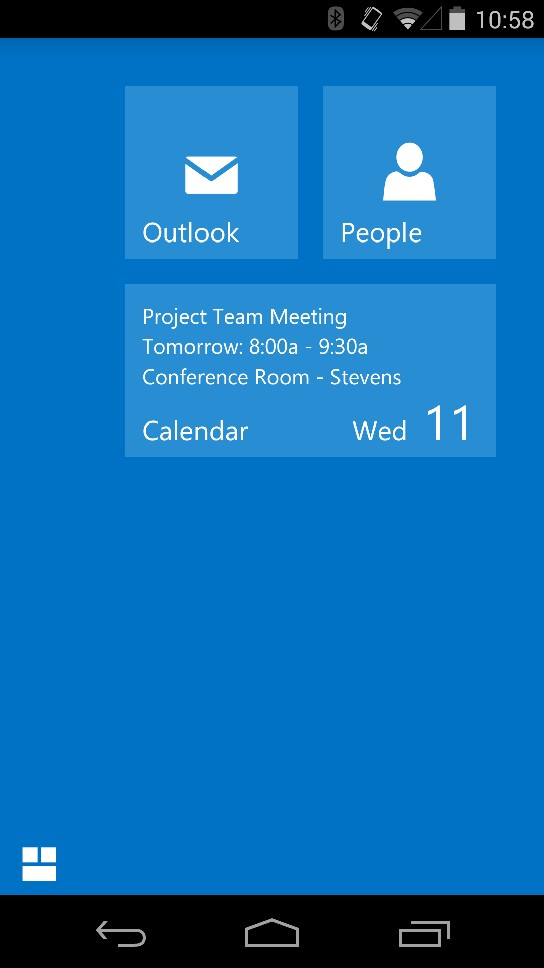 Outlook Web App per Android