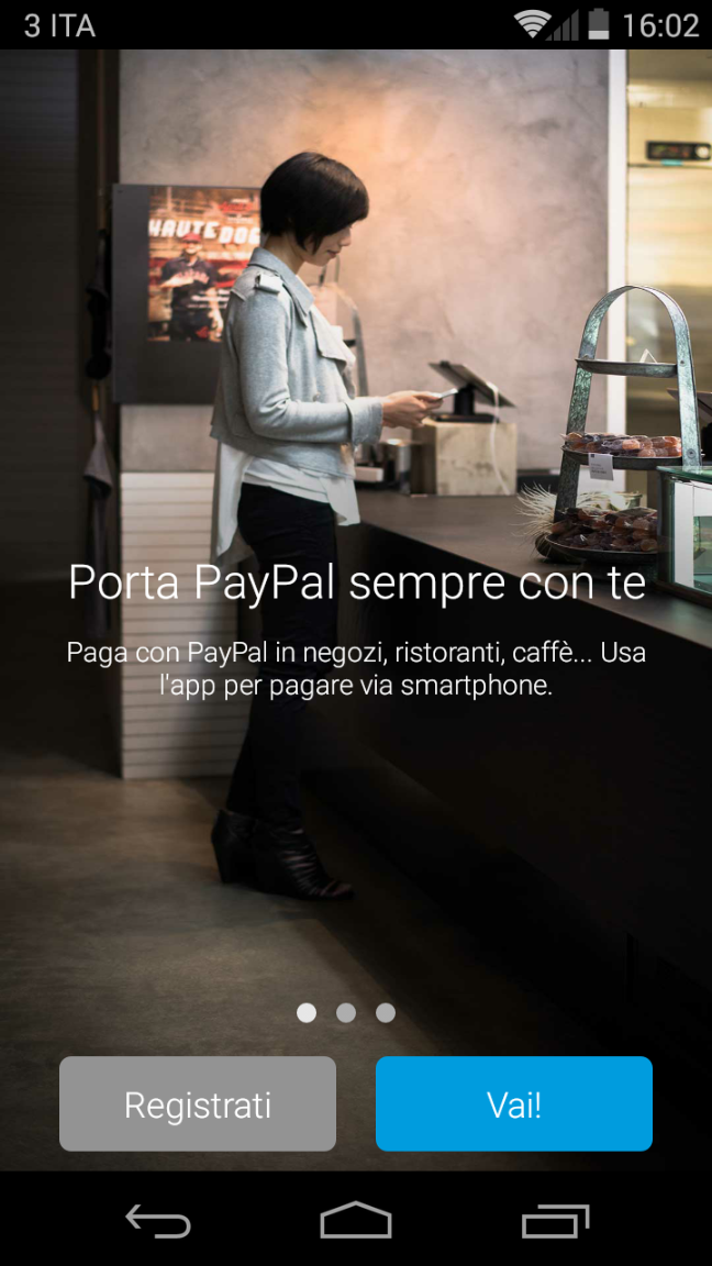 PayPal per Android