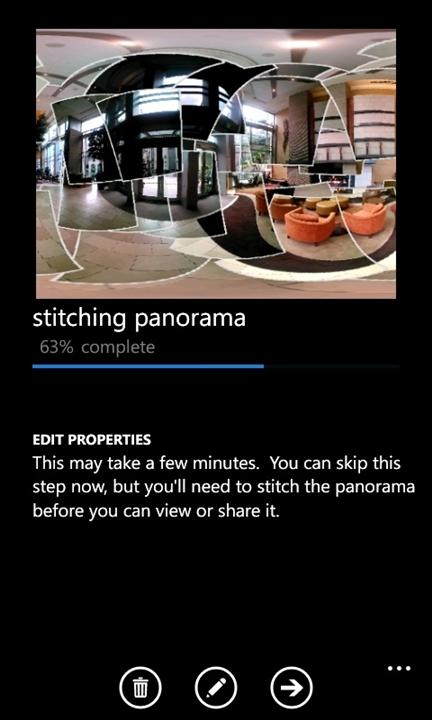 Photosynth per Windows Phone