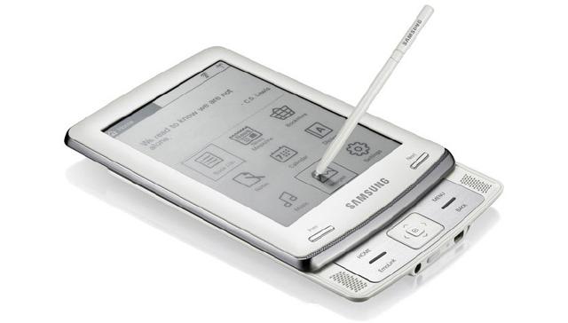 Samsung eBook E60 - con pennino