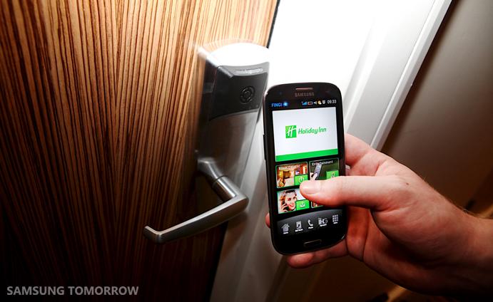 Samsung Galaxy S3, Holiday Inn London Stratford City