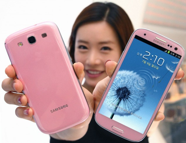 Samsung Galaxy S3 Martian Pink