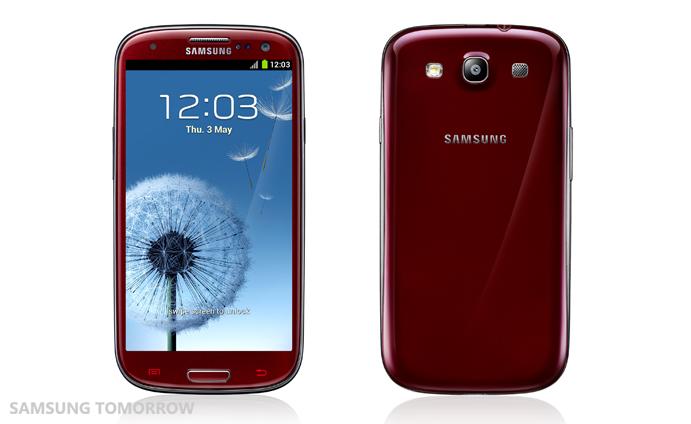 Samsung Galaxy S3, nuovi colori