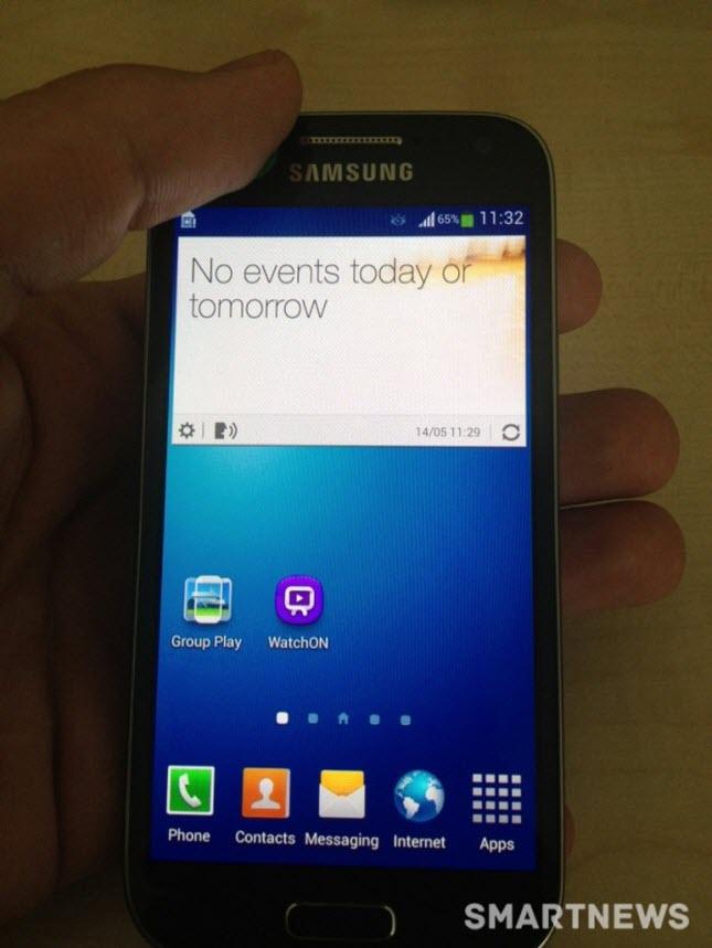 Samsung Galaxy S4 Mini acceso