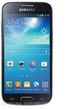 Samsung Galaxy S4 Mini, fronte