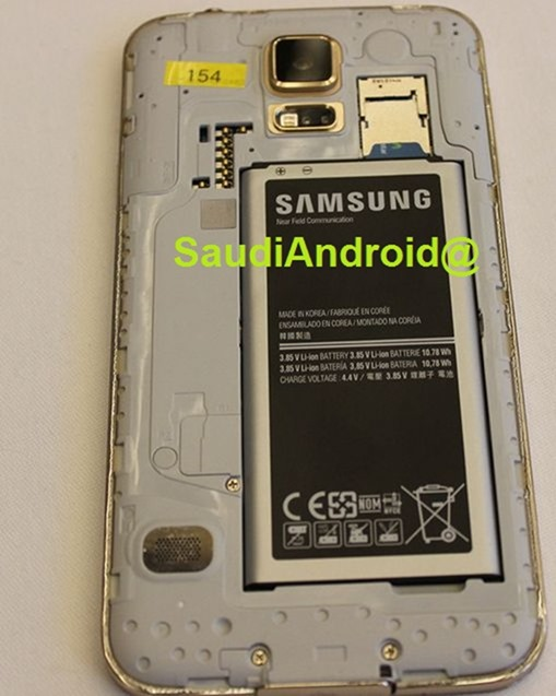 Samsung Galaxy S5, immagini leaked