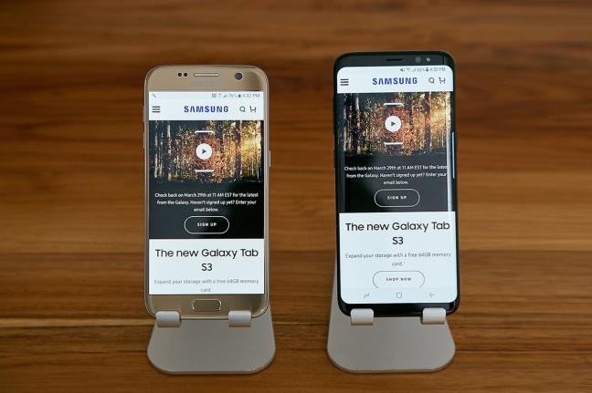 Samsung Galaxy S8 e Galaxy S8+