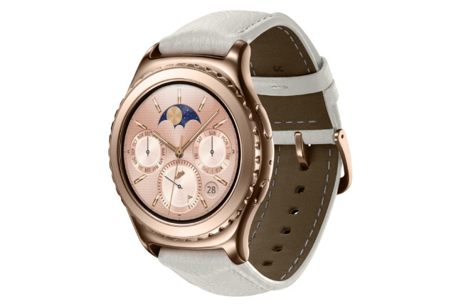 Samsung Gear S2 classic Rose Gold 18K