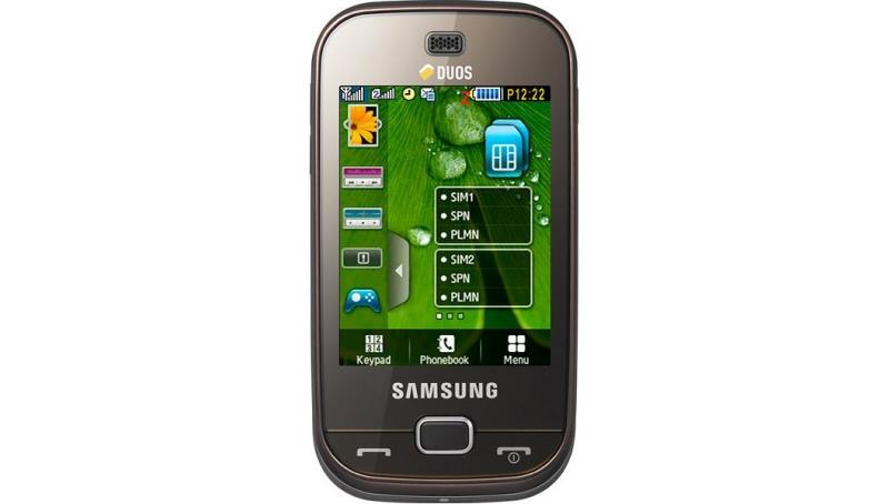 Samsung GT B5722 - fronte