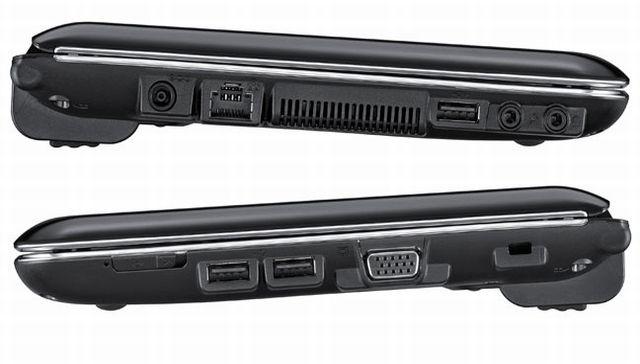 Samsung N220 lato