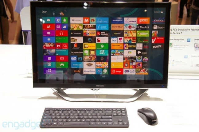 Samsung Serie 7 all-in-one