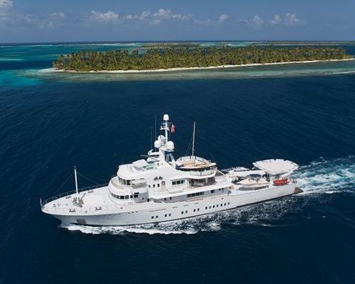 Senses, lo Yacht di Larry Page