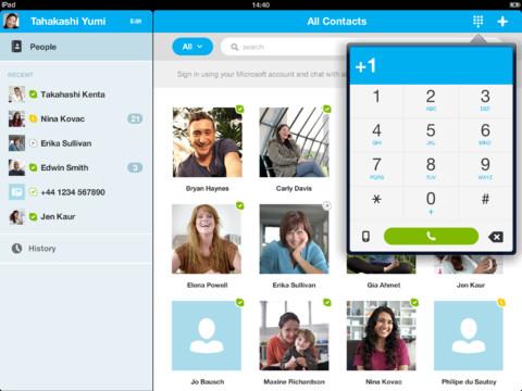 Skype 4.5 per iPad
