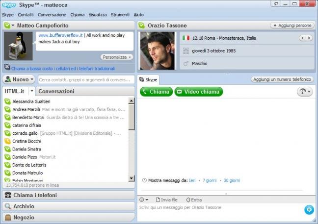 Skype 4.0 Chat