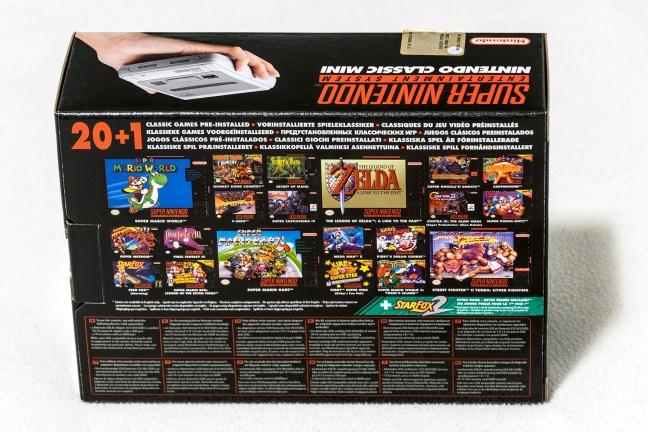 SNES Mini (Nintendo Classic Mini: Super Nintendo Entertainment System)