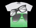 Maglietta con occhiali