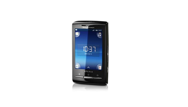 Sony Ericsson X10 Mini - fronte