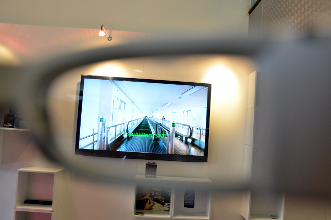 Sony SmartEyeGlass, hands-on